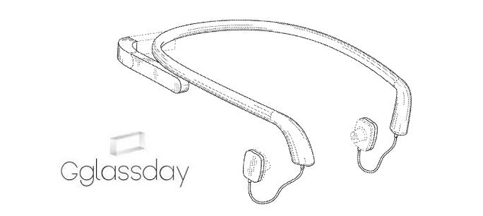 Google patenta un nuevo diseño para sus Glass ¿Será este el diseño definitivo ?