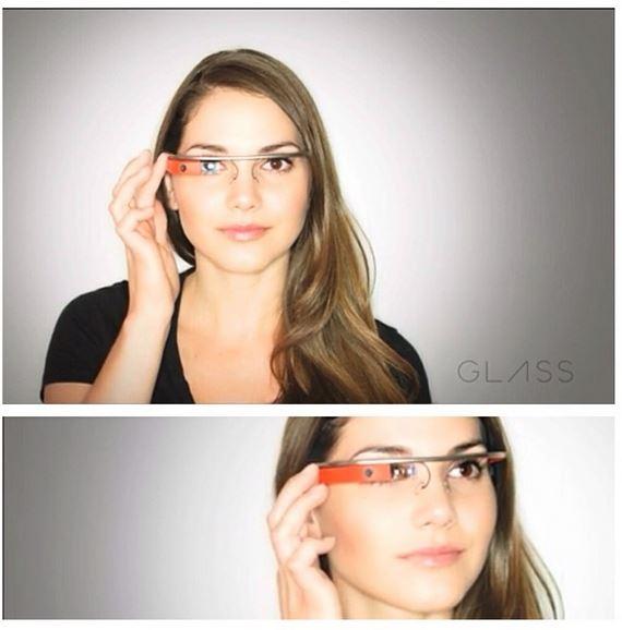 Imágenes del anuncio de Google Glass, pero Google niega su autoría