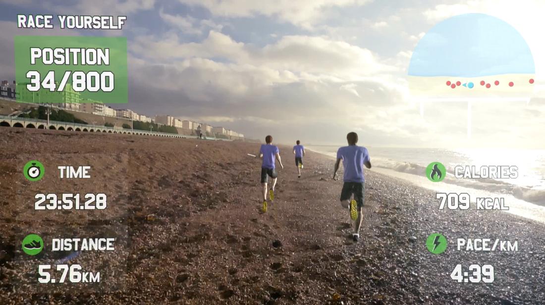 Race Yourself: Una nueva forma de correr gracias a Google Glass