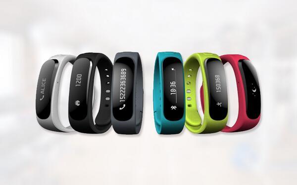 Talkband B1, la pulsera inteligente de Huawei presentada durante el MWC14