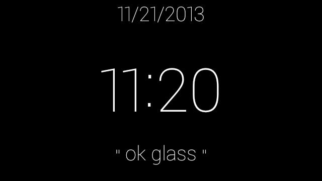 Cambia la pantalla de inicio de Google Glass con esta aplicación