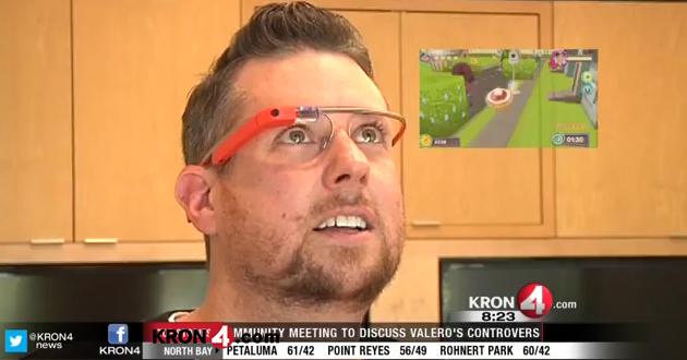 Google Glass como consola de juegos multimedia
