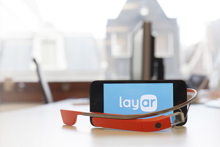 Layar llega a Google Glass