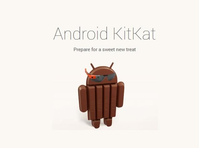 Android Kit Kat llega a Google Glass