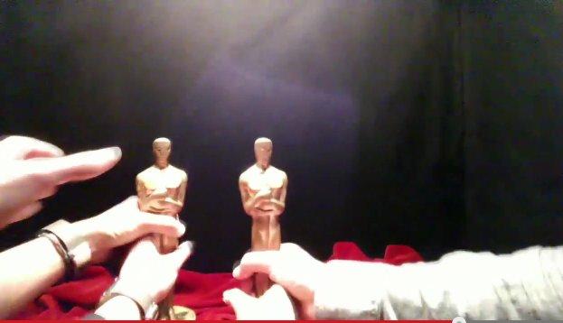 Así se vive horas antes la ceremonia de los Oscars desde Google Glass