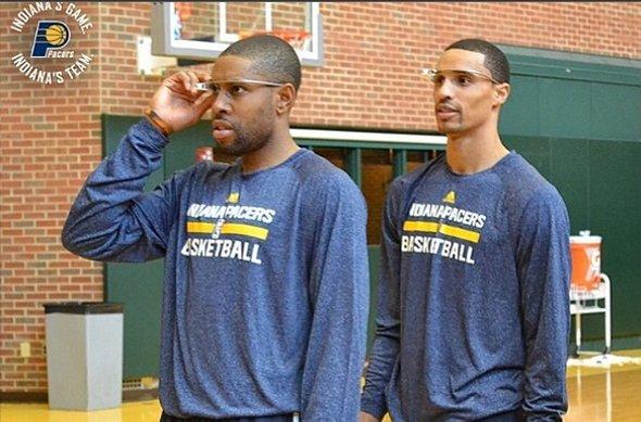 Los Indiana Pacers usarán hoy las Google Glass en su partido de la NBA