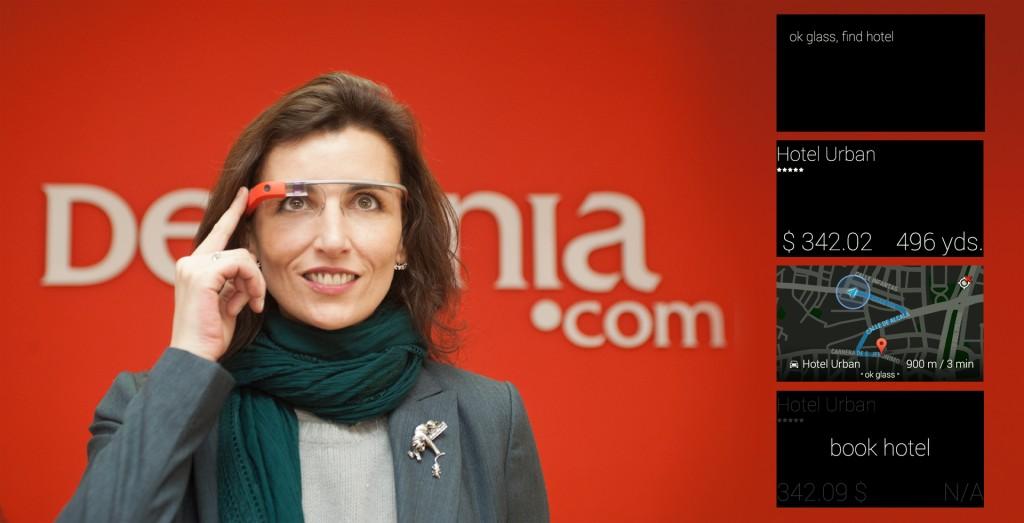 Destinia lanza una aplicación para reservar hoteles desde Google Glass