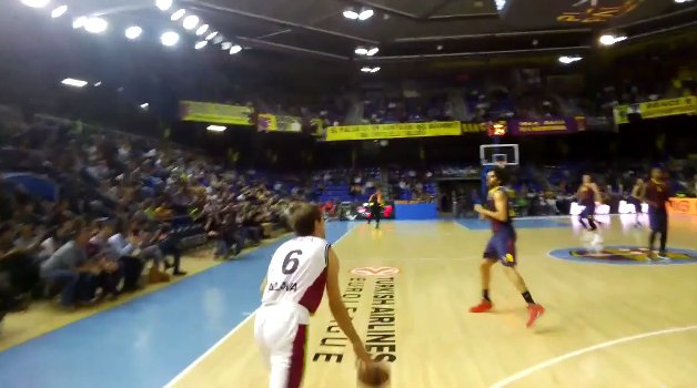 Laboral Kutxa y el Barça usan las Google Glass en la Euroliga de Baloncesto