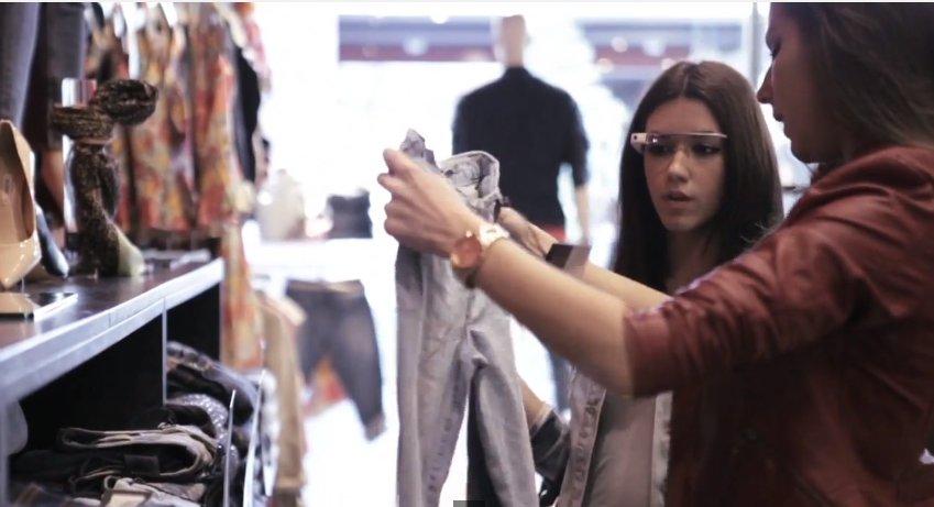 La Maquinista y el personal shopper con Google Glass