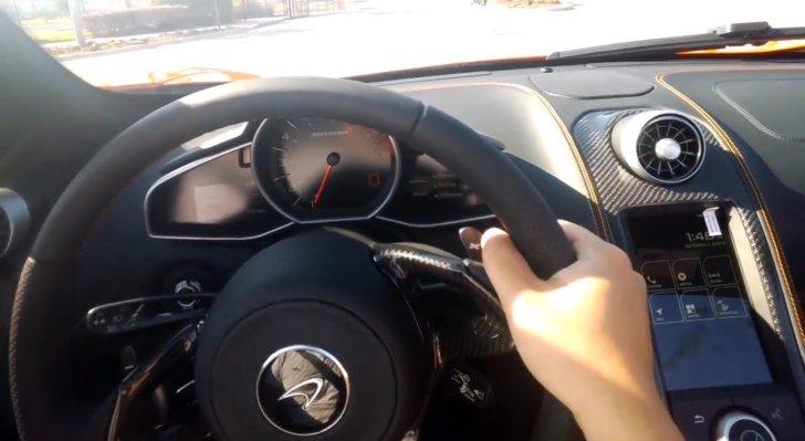 El nuevo McLaren 650 Spider visto desde Google Glass