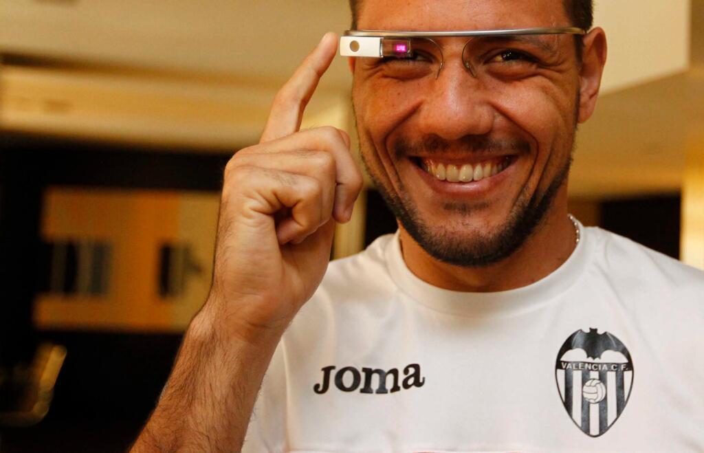 El Valencia usará Google Glass ante el Real Madrid