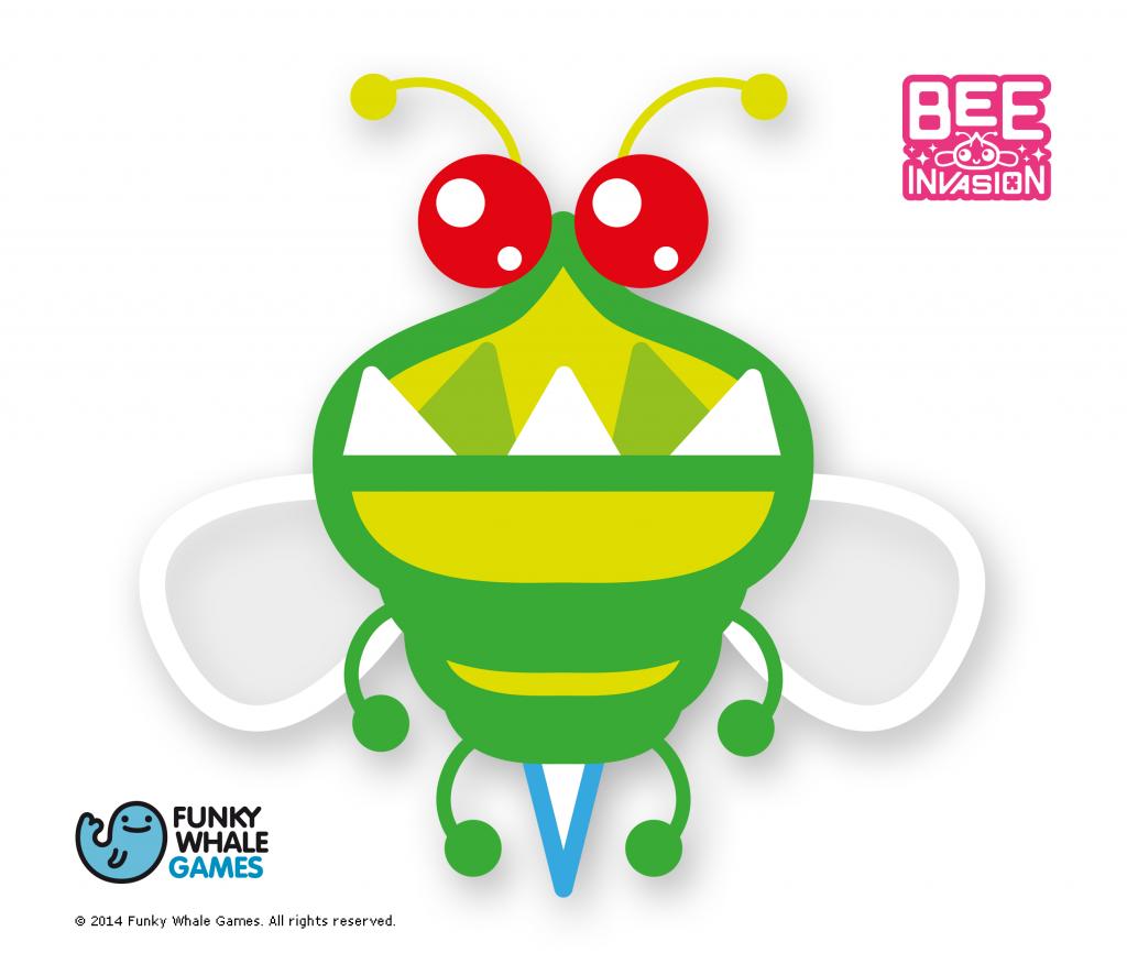 Bee Invasion, juego español disponible en el Glassware de Google Glass