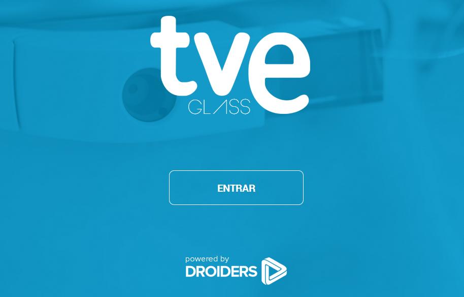 RTVE desde las gafas, la televisión española llega a Google Glass.