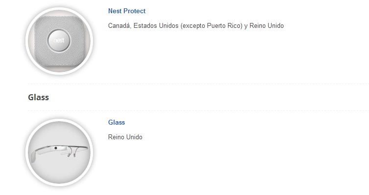 venta google glass reino unido