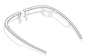 Nueva patente muestra un cambio de diseño para Google Glass2