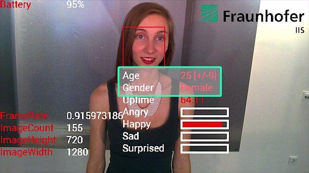 emociones google glass