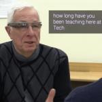 Google Glass ayudando a personas con problemas auditivos