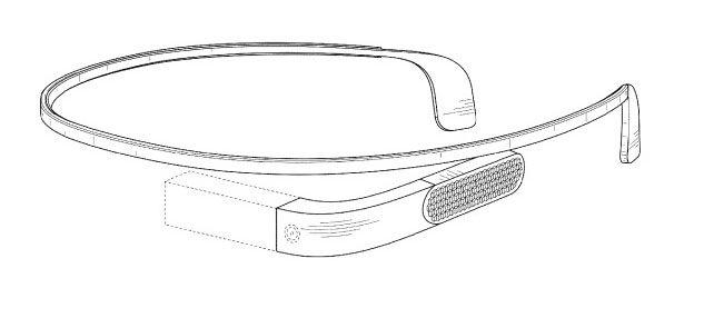 Otra patente muestra un nuevo diseño de Google Glass