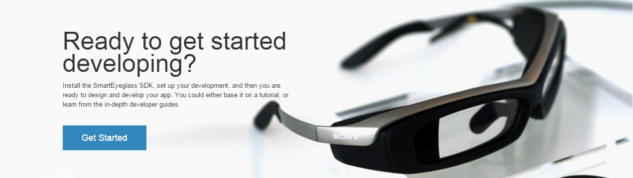 SmartEyeglass, gafas inteligentes Sony