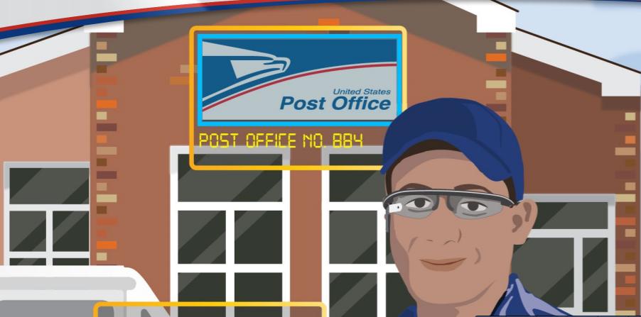 5 formas en que el servicio postal podría ahorrar dinero con Google Glass