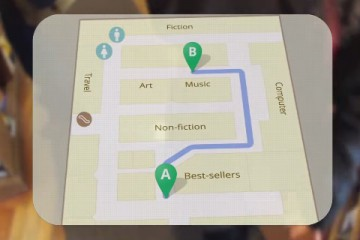 map google glass