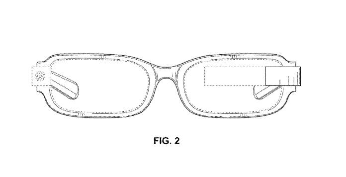 Nueva patente de Google Glass demuestra un nuevo diseño