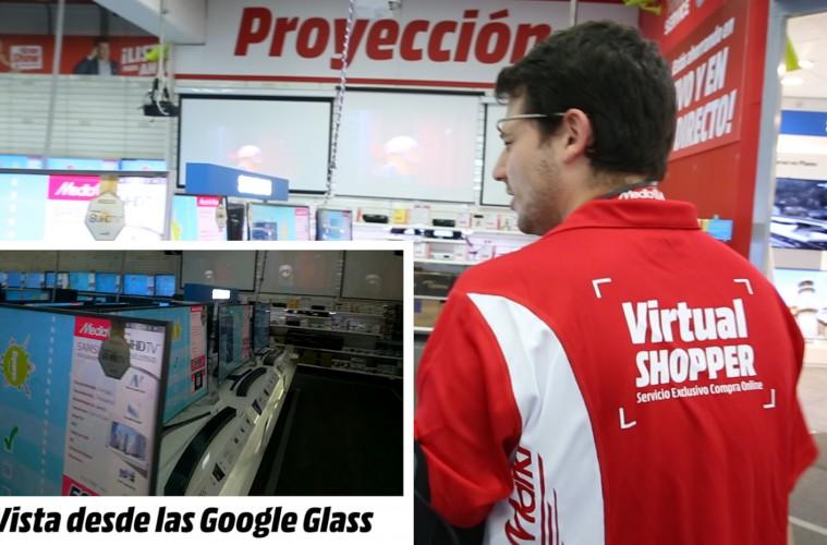 virtual shopper media markt google glass
