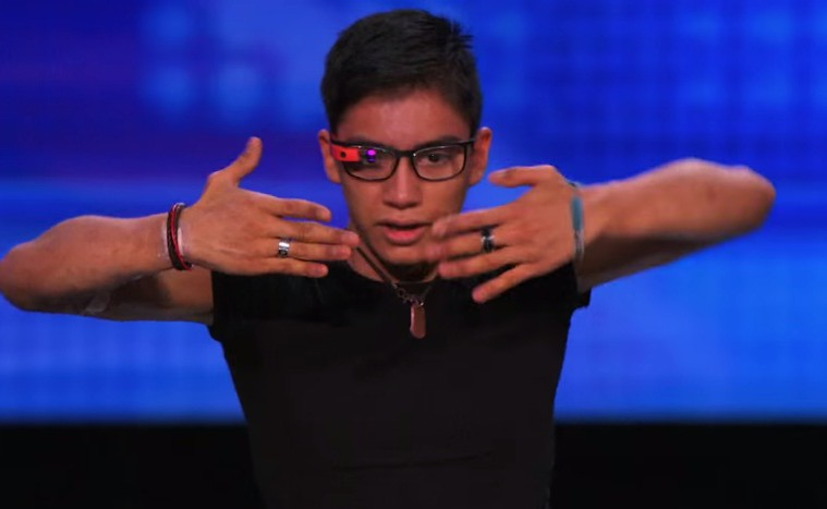 america got talent google glass