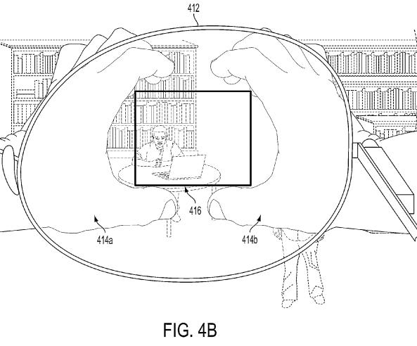 tomar fotos patente google glass