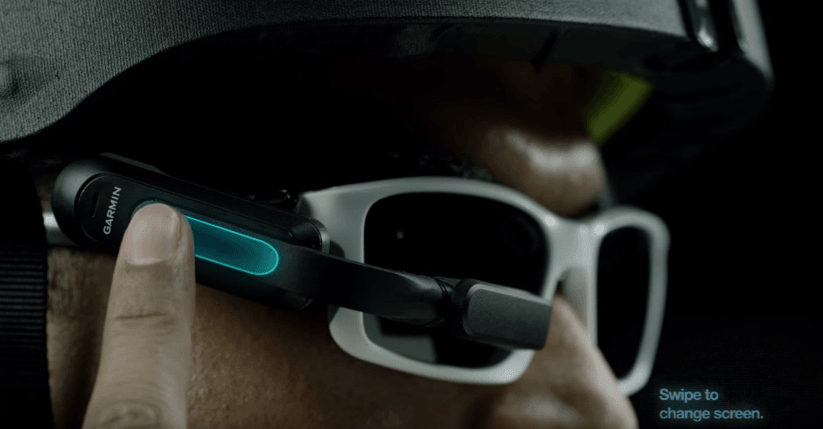 garmin varia vision gafas inteligentes ciclistas