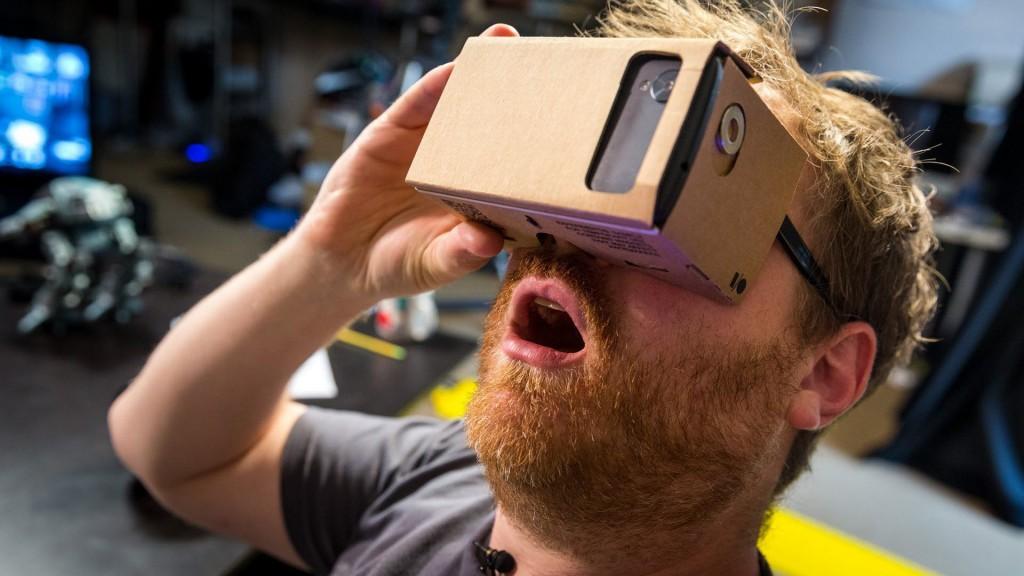 cardboard google nexus vr