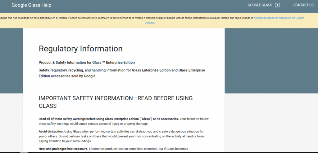 Glass Enterprise Edition