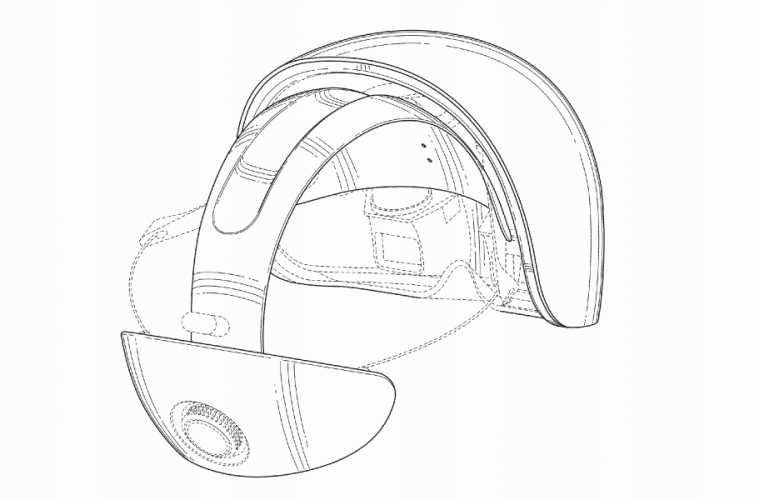 magic leap patente casco