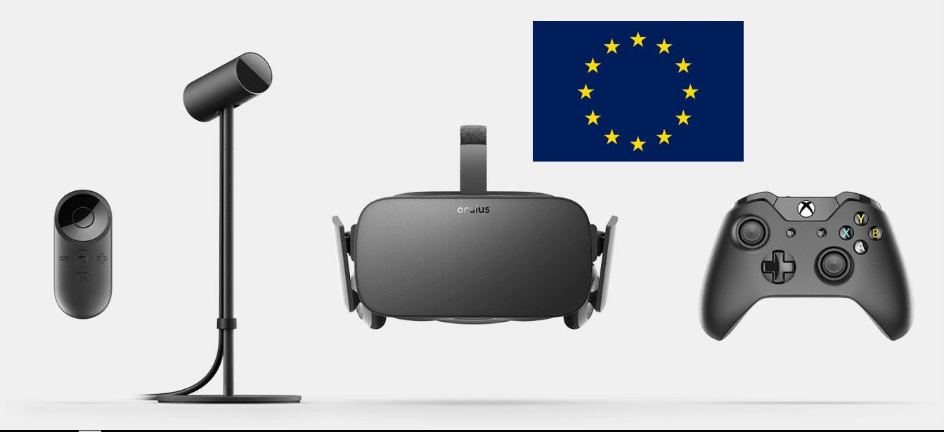 El lanzamiento en Europa de Oculus Rift será el 20 de Septiembre