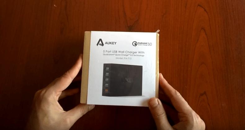 cargador de pared aukey review