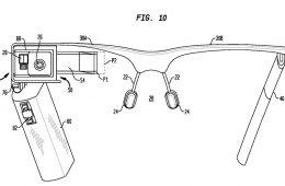 pilas AA patente google glass