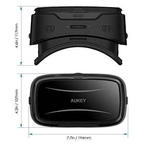 dimensiones gafas aukey