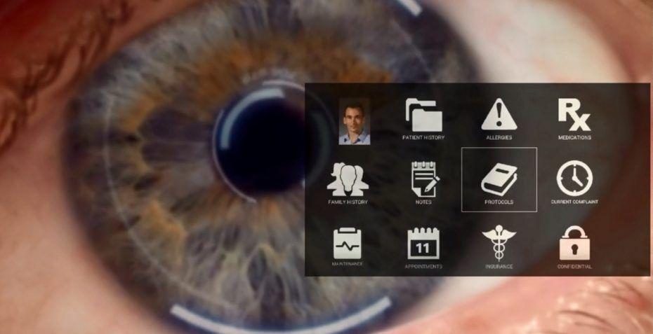 eyefluence google ojos seguimiento