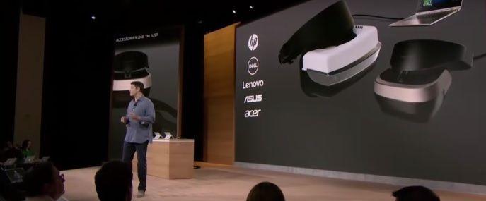 gafas de realidad virtual de microsoft