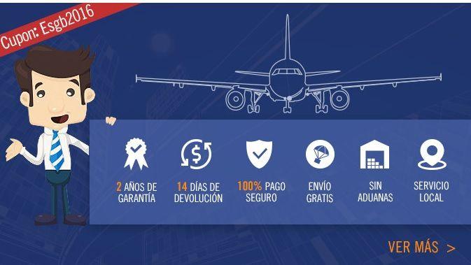 Gearbest abre tienda en España. Garantía de 2 años y sin aduanas