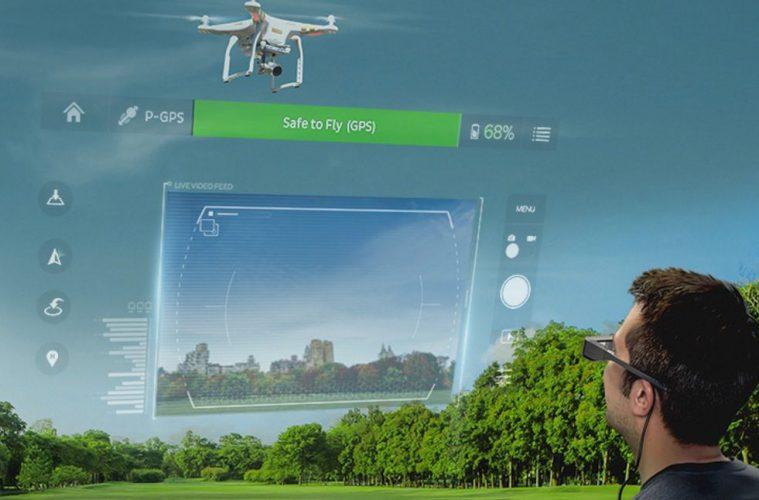 epson moverio drone