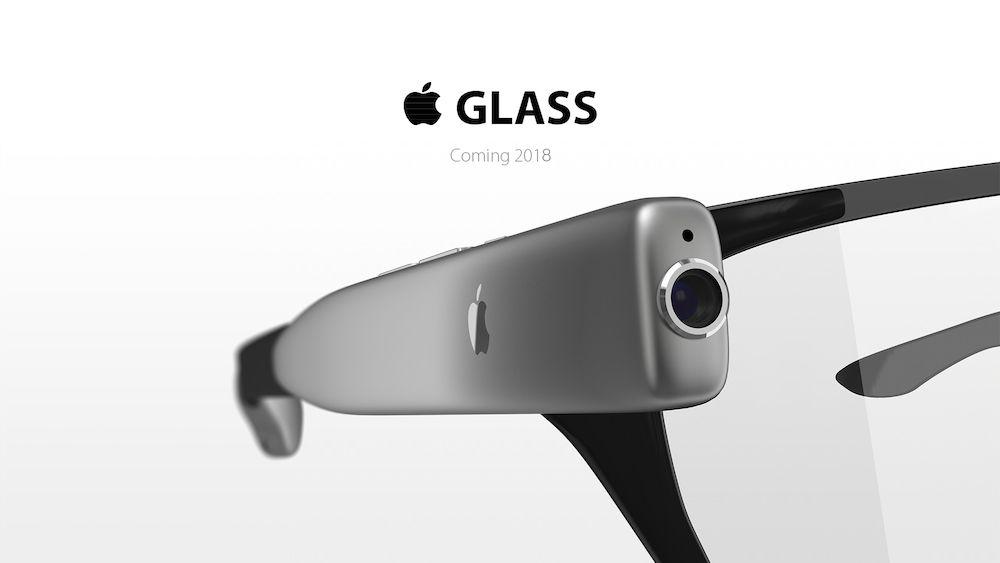 gafas inteligentes de apple concepto