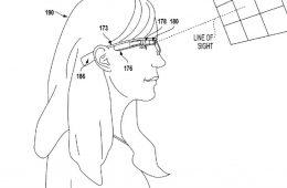 patente google glass mirada