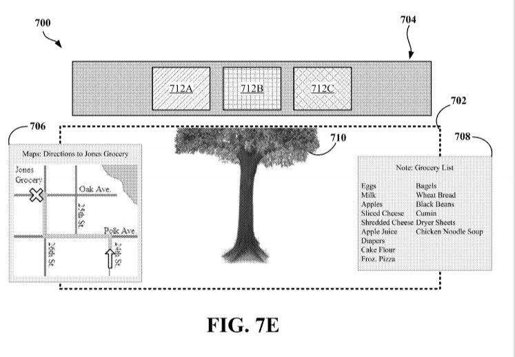 sensores patente google glass