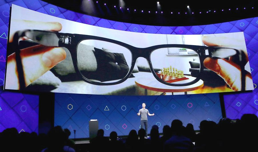 facebook gafas de realidad aumentada