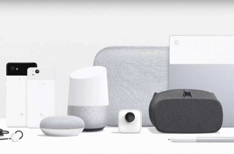 productos pixel 2017 google