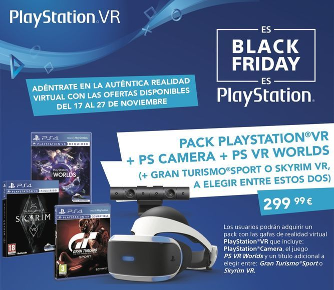 PlayStation VR black friday 2017