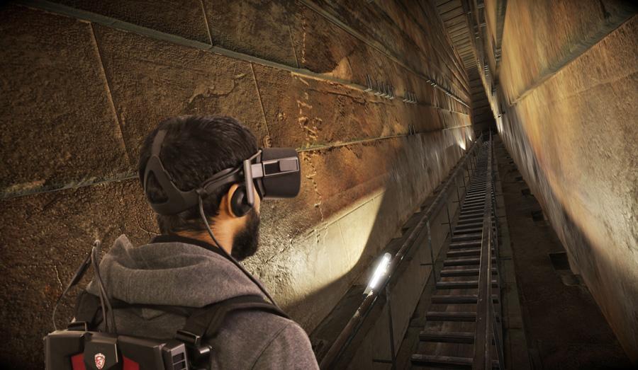 ScanPyramids VR, cuando la realidad virtual reactiva la pirámide de Keops