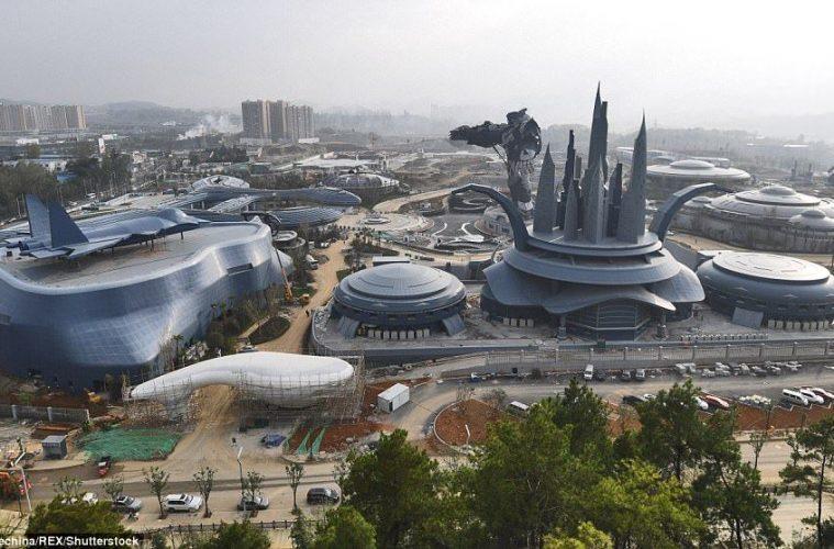 parque de atracciones de realidad virtual china transforner