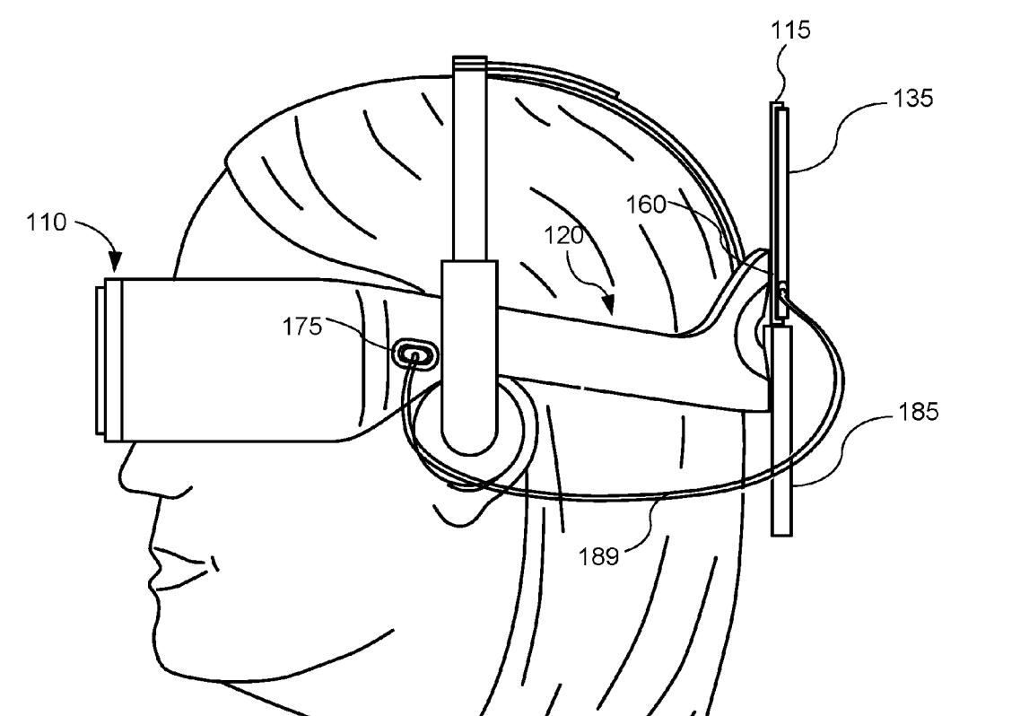 Oculus Rift Híbridas: HMD convertible para móvil o PC, según una patente